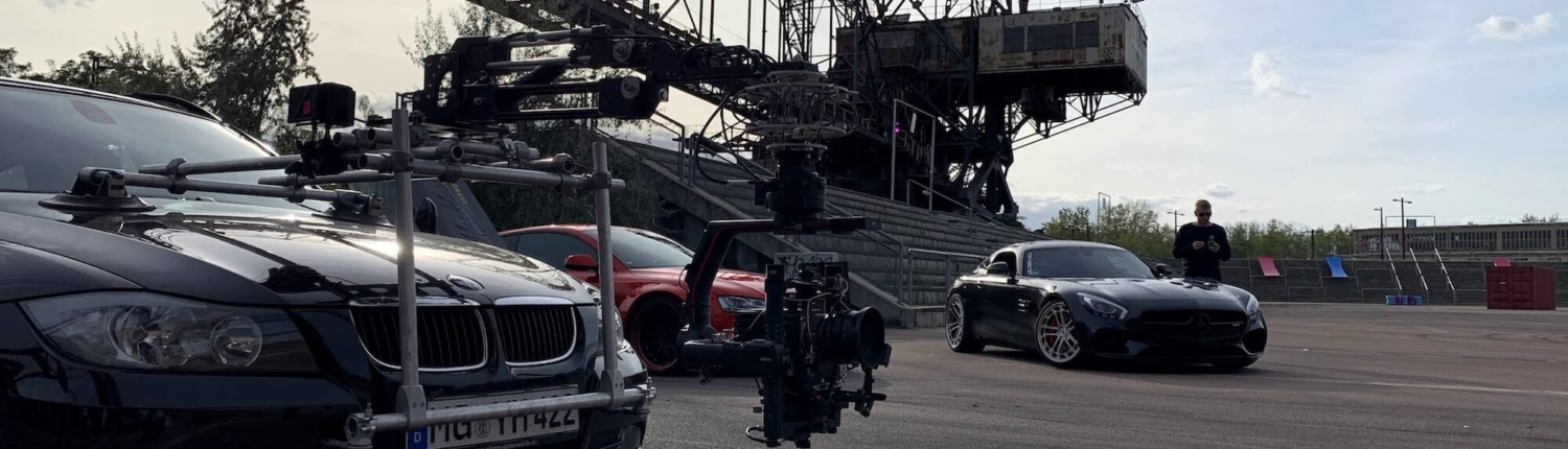 Cars with filmequipment